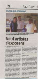 sud-ouest 23 sept 2015